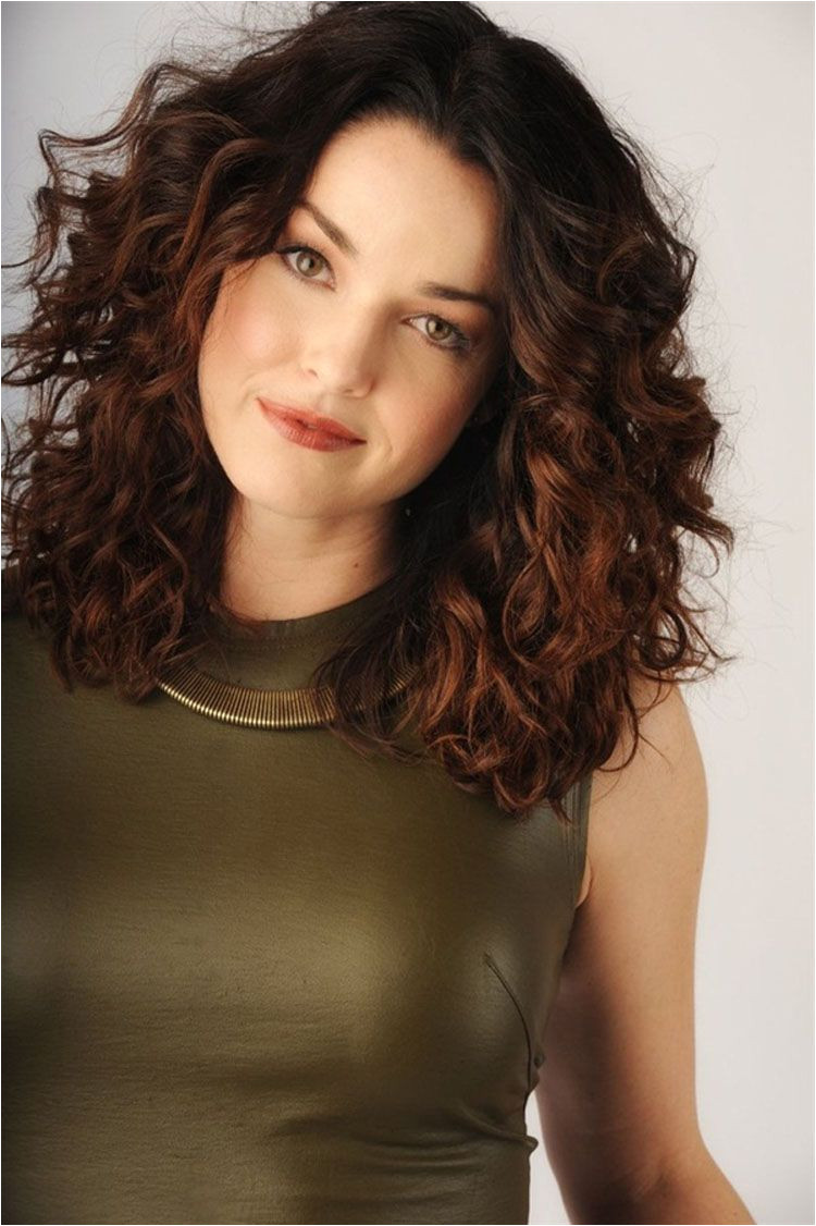 mid length hairstyles curly hair Google Search
