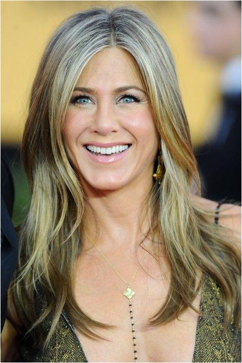 Jennifer Aniston at SAG Awards 2015 Hair Colour Ideas A list Inspiration Hair & Beauty Galleries