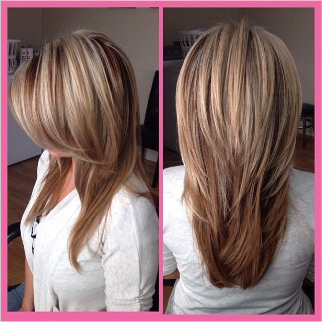 This season has brought a lot of new designs to long straight hair Like the trendy short hairstyle last year we can also have an asymmetric cut for long