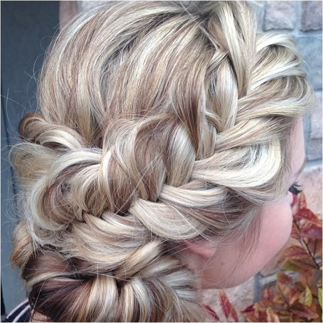 A loosely braided with a low updo from heatherchapmanhair that is absolutely gorgeous