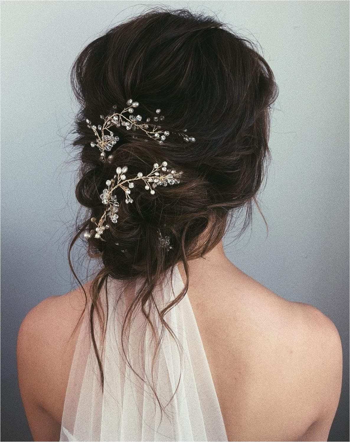 A hairpiece is all you need to take your messy bun from dressed down to dressed up