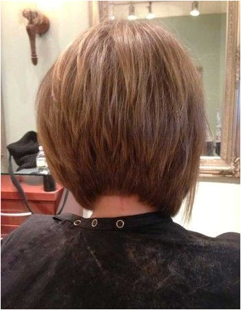 Really Popular Inverted Bob Back View