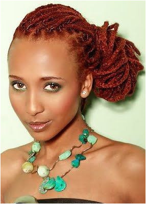 If you like this red dreadlocks style then click through to see how else she styled it dreadstop DreadStop