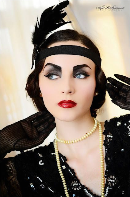 How to the 1920s flapper look blog post