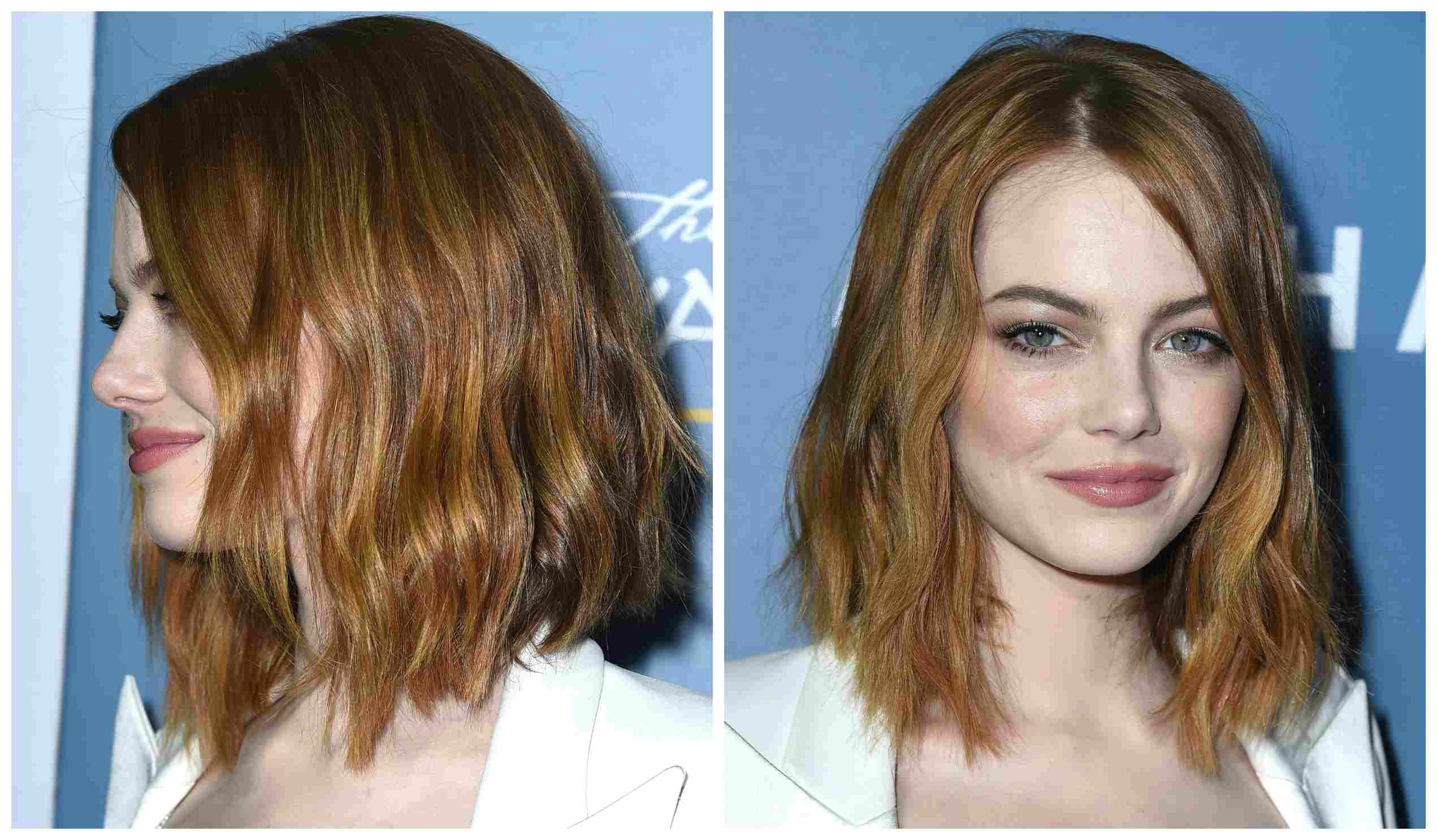 Hairstyles Parted Down the Middle How to Nail the Medium Length Hair Trend