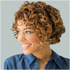 Cute permed bob Curled Hairstyles Hairstyles Haircuts Curly Wigs Curly Hair Cut