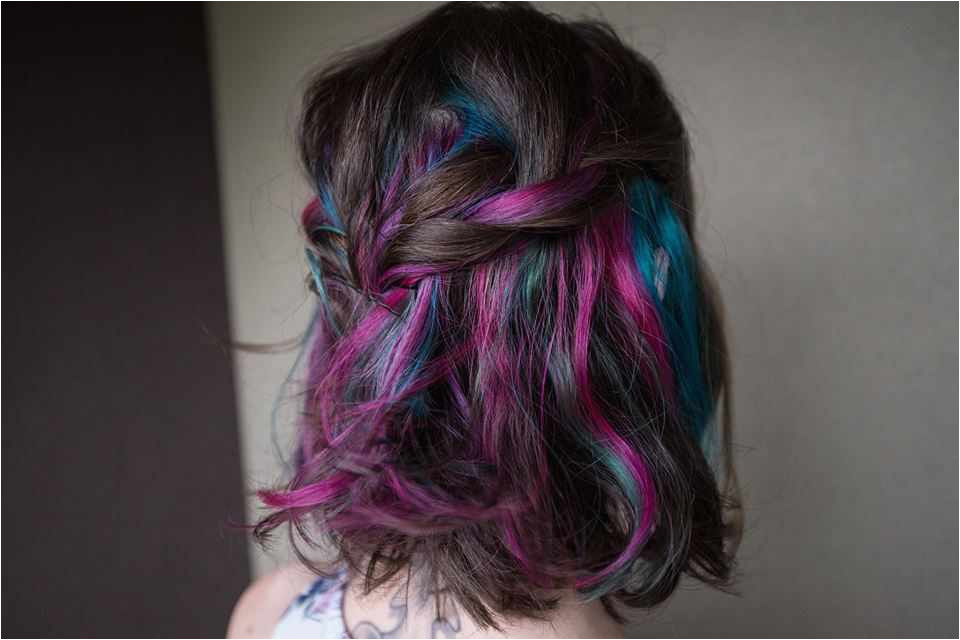 Rainbow Highlights Hairstyles Beautiful S S Media Cache Ak0 Pinimg originals 0d A2 B3