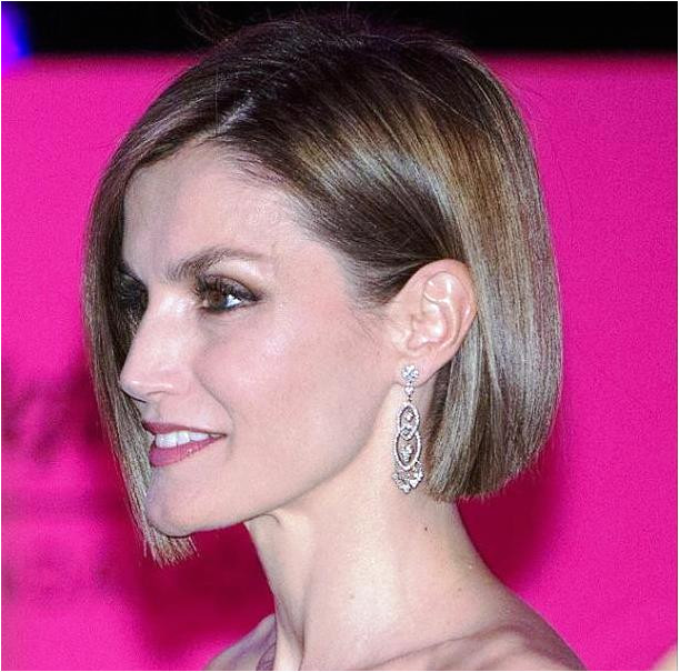 Image result for queen letizia of spain 2015 hair