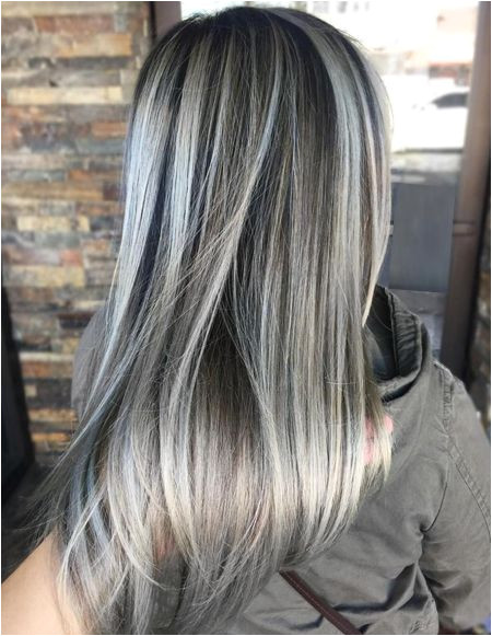 Ash Grey Hair Color Ideas for Spring Season 2018