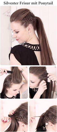 23 Silvester Frisuren zum Selbermachen für einen glamourösen Look