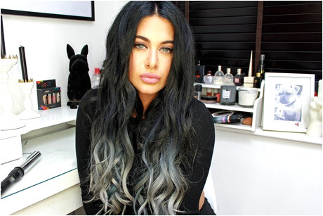 Black to Silver Ombre Hair Luxurious Grey Ombre Hair Tutorial Foto Video
