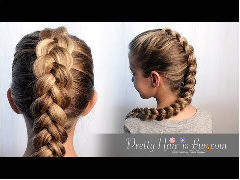 HOW TO DUTCH BRAID HAIR TUTORIAL 🙌🙌❤