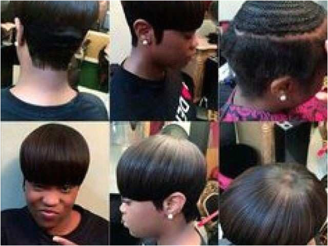 Weave Hairstyles for Black Girls Unique Short Sew In Weave New I Pinimg originals Cd B3