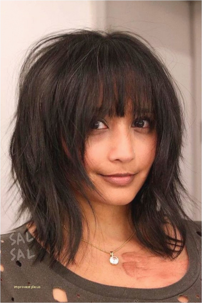 Shoulder Length Hairstyles with Bangs 0d Mid Length Layered Haircuts