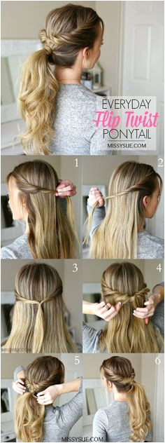 Ponytails are such a great go to hairstyle They re quick easy