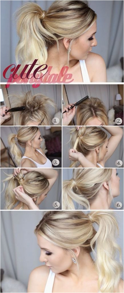 Easy Hairstyles Pretty Hairstyles Short Hairstyle Hairdos Updos Hairstyles For