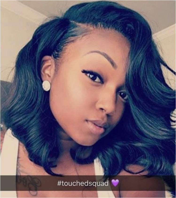 TheyAdoreMani Human Hair Wigs Short Hair Sew In Short Hair Weave Styles Curly