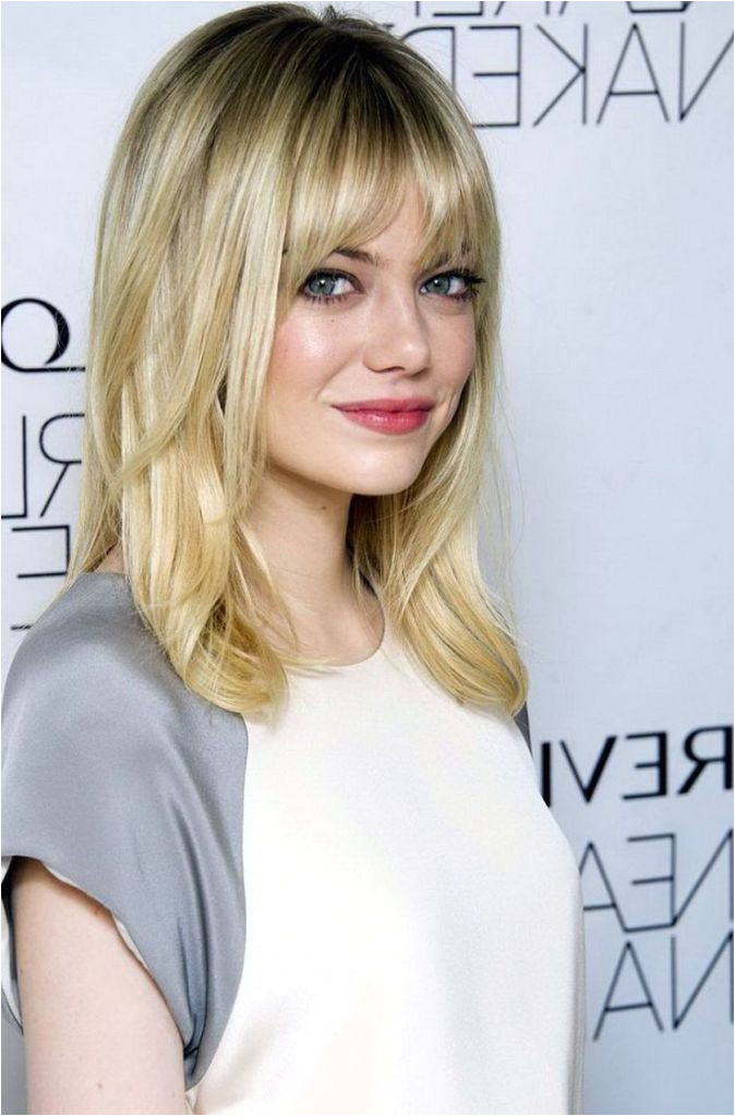Versatile Bang Haircuts For Medium Length Hairs Fashionre