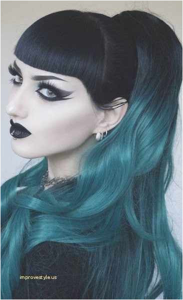 Cool Colored Hair Awesome Natural Hair Hairstyles Surprising Hair Color Specially Goth