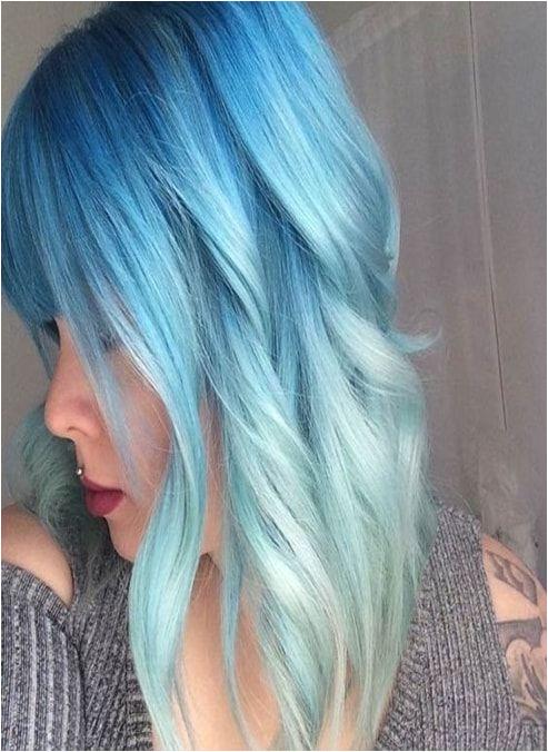 Colour Melt Hair Blue Hair Colors Pastel Blue Hair Dyed Hair Blue