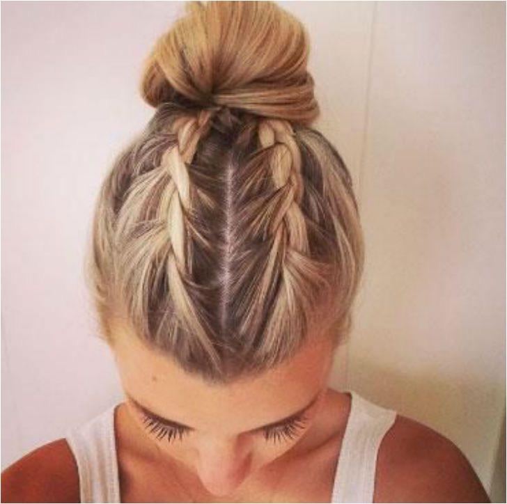 Hair and Beauty Pinterest urbanoutfits Braids In A Bun Braid Bun Updo
