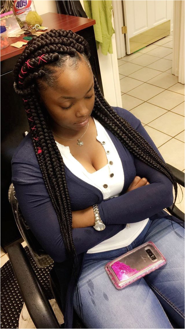 Pin by Euphoric Hair on Classic Box Braid Hairstyles Pinterest