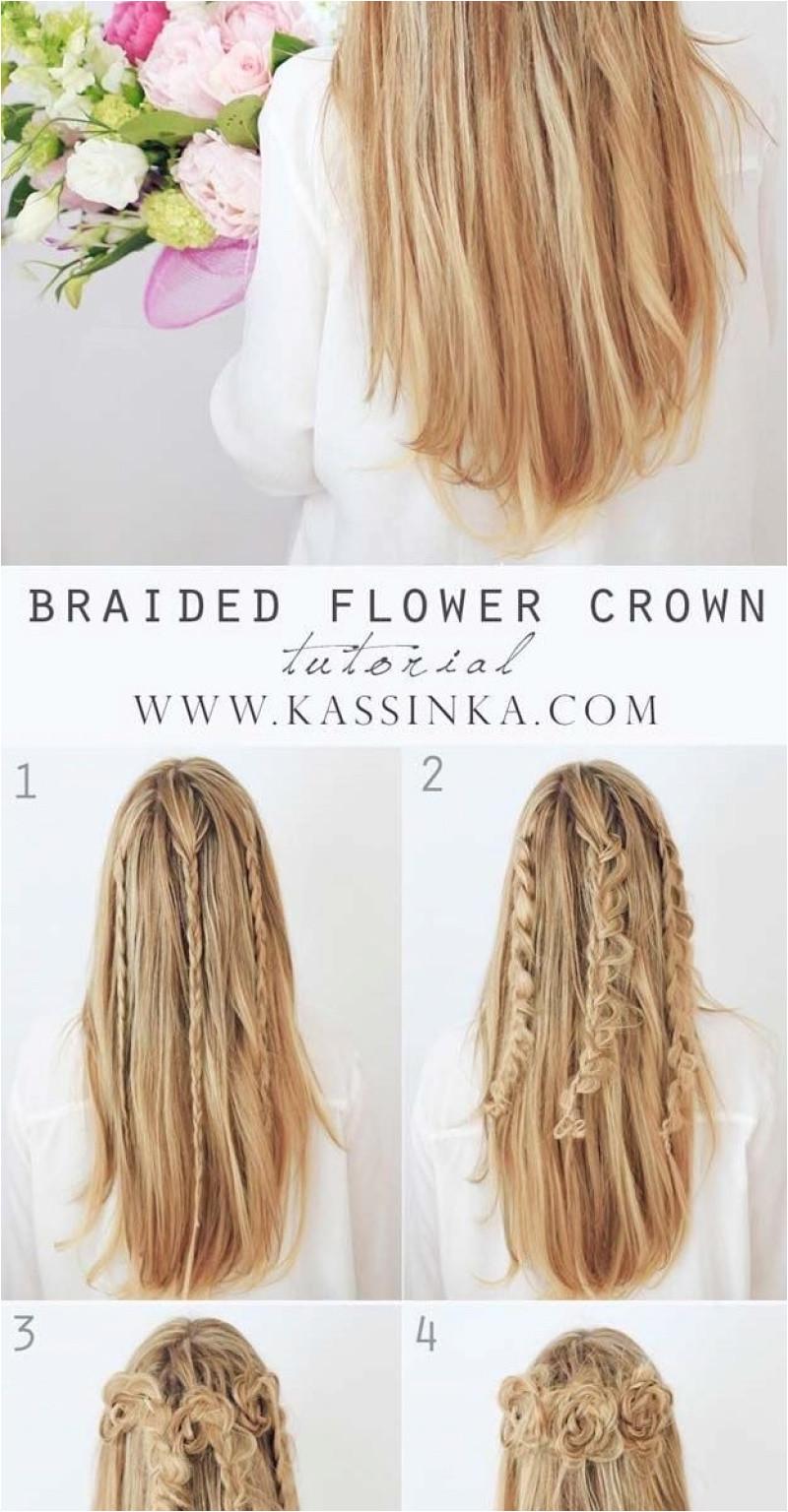 Flower Girl Braided Hairstyles Lovely Cute Easy Fast Hairstyles Best Hairstyle for Medium Hair 0d as