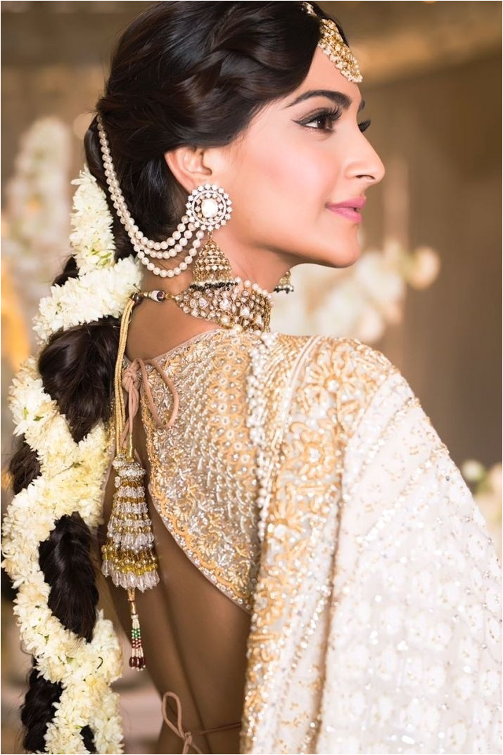 Sonam Kapoor s messy braid that came till her butt which she wore for her mehendi was definitely a game changer and a trendsetter