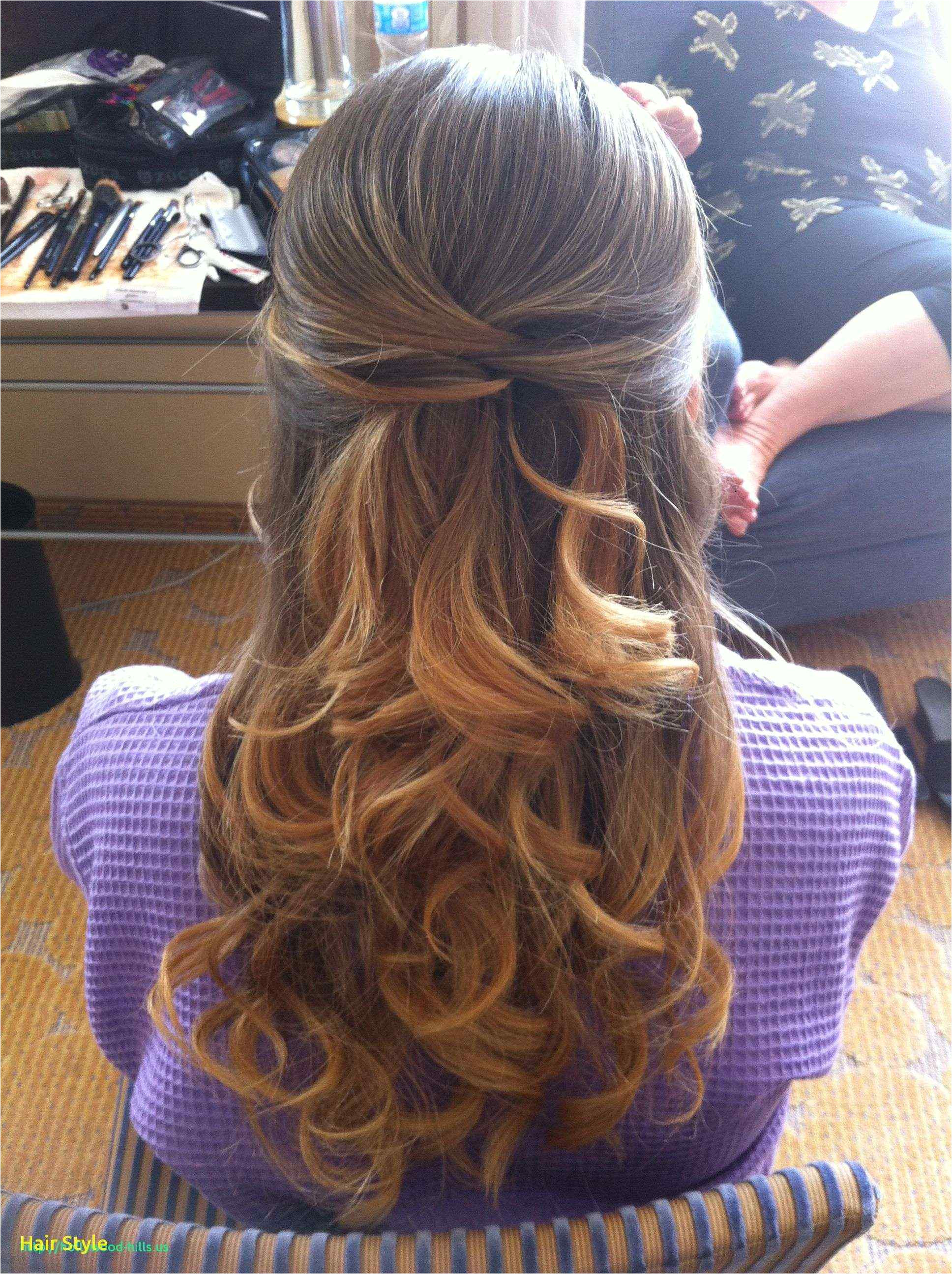 Hair Half Up Half Down Styles Awesome Hairstyles for Long Hair Bridal Half Up Half Down