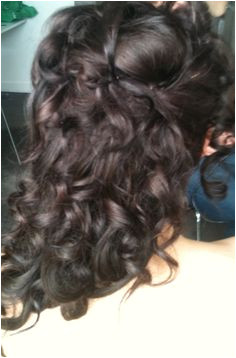 A lovely result using hair extensions The Wedding Stylist · Wedding Half up Half Down