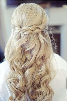 Image result for half up half down hairstyles Bride Hairstyles Down Wedding Hairstyles Half Up
