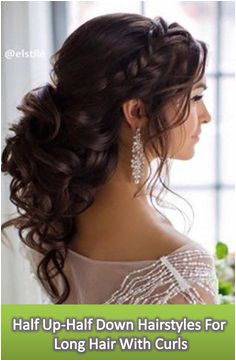17 top Half Up Half down Hairstyles for Long Hair for Your Curly Tresses