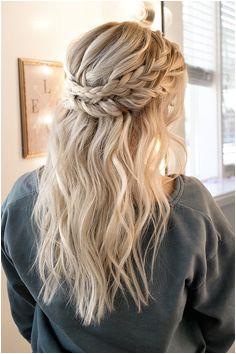 Stephanie Brinkerhoff hairandmakeupbysteph • Instagram photos and videos Prom Hairstyles For Long Hair Half UpBraided