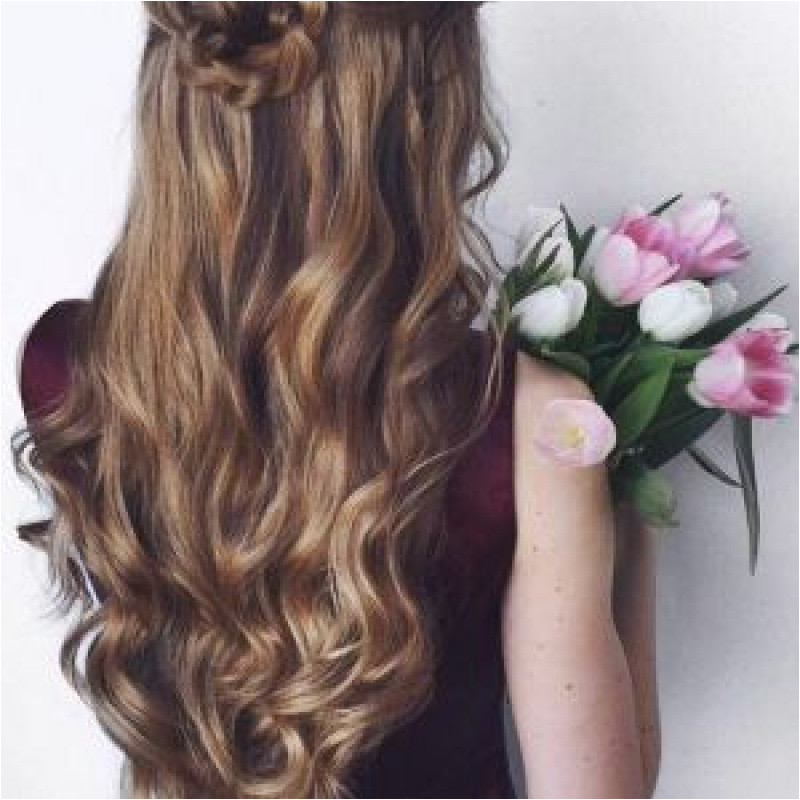 Half Updo Hairstyles for Prom Beautiful Easy Half Updo Hairstyles for Medium Hair