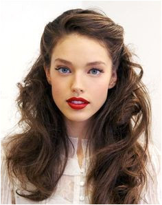 Vintage Half up Half down Hair You Must Try Pretty Designs