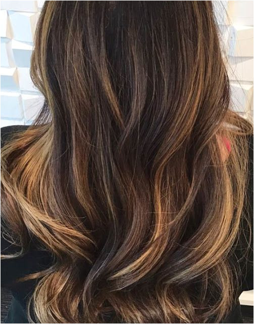 Honey Blonde Hair Color Chocolate Brown and Honey Blonde Balayage