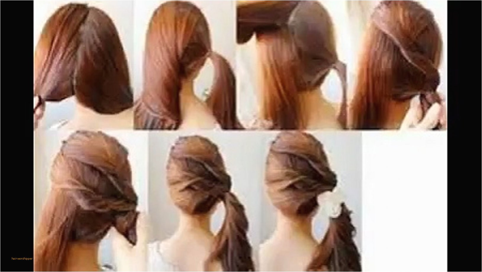 Fresh Easy Hairstyles for Long Hair Step by Step Dailymotion