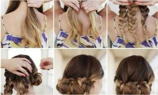 Simple Hairstyle for Long Hair Easy Simple Hairstyles Awesome Hairstyle for Medium Hair 0d Concept