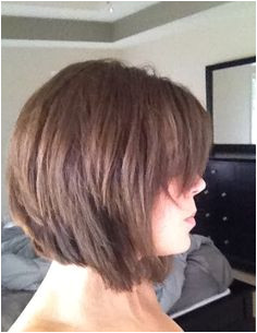 side bangs with inverted bob Inverted Bob Hairstyles Layered Haircuts Modern Haircuts Short