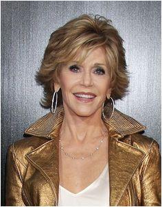 Jane Fonda Brunette Highlights Brunette Hair Grey Hair Styles For Women Short Hair