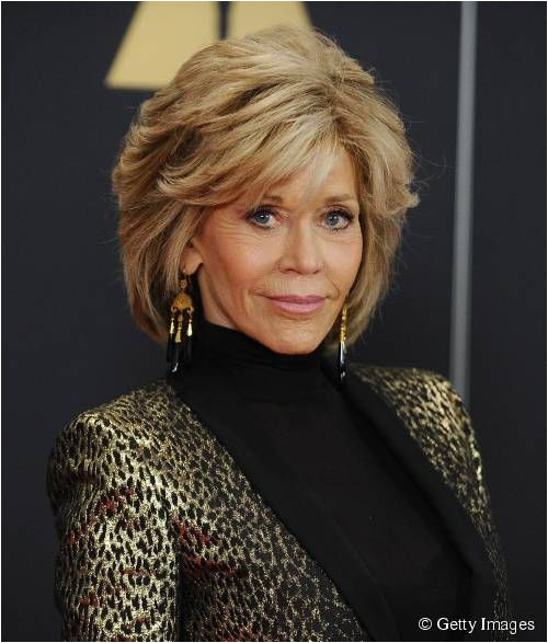 Jane Fonda Hairstyles for Over 60 Jane Fonda Glows at Grace and Frankie Premiere Hairstyles