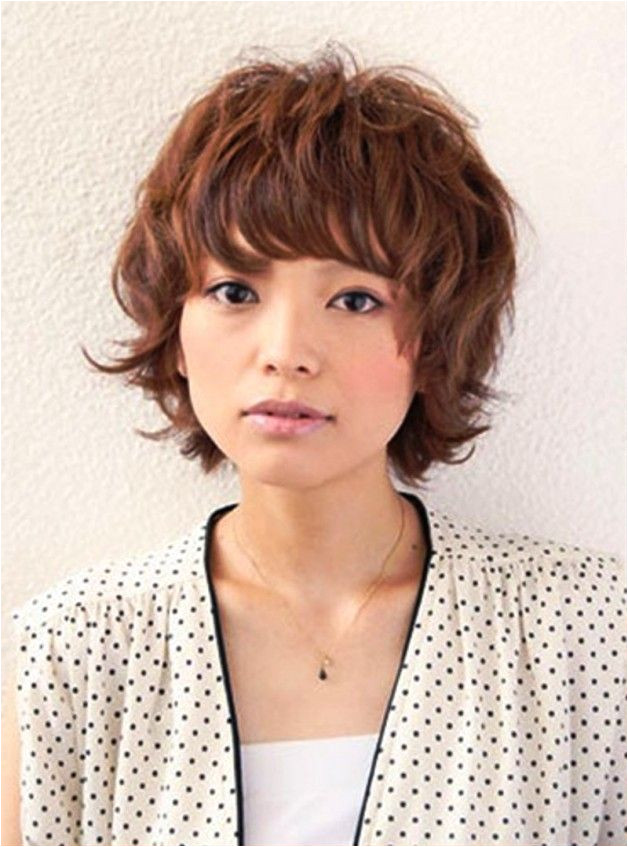 Short Curly Japanese Hairstyles
