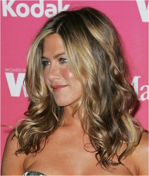 Jennifer Aniston Long Hairstyle Wavy Hair