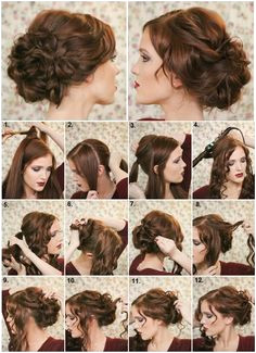 How To Make a Fancy Bun DIY Hairstyle