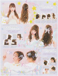 LARME magazine Jadey Jades · Kawaii hairstyles