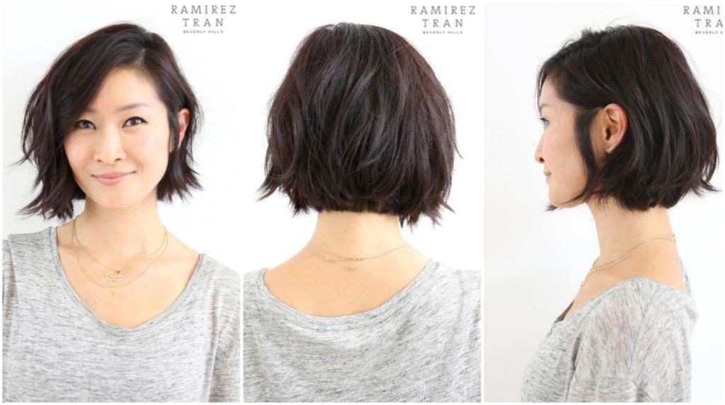 Asian Hair Bob Best Korean Curly Hairstyle For Women Hair Ideas Pinterest