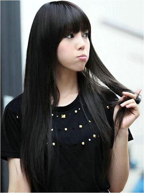 Easy Black Long Hairstyles Asian Girl