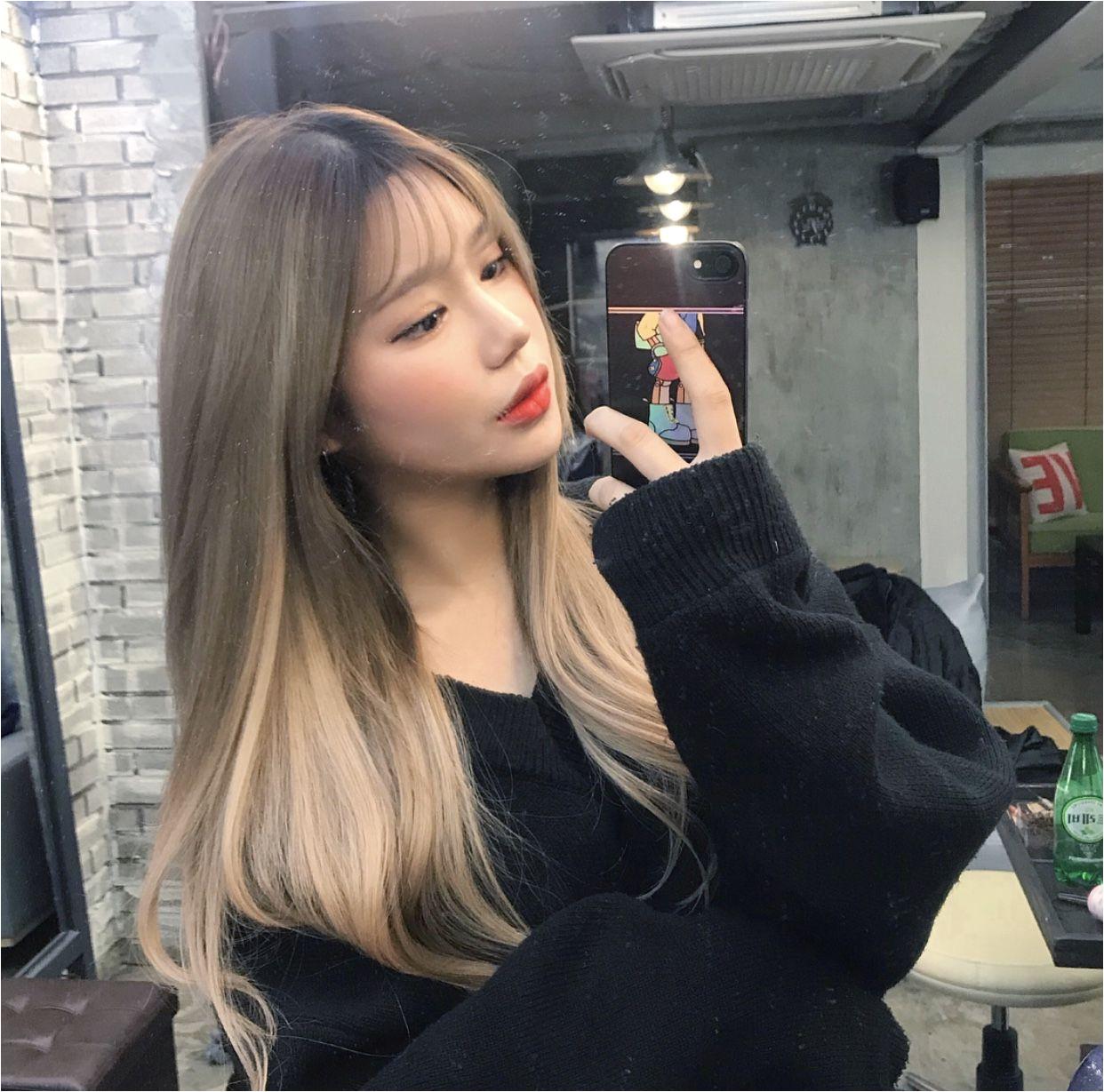 Her hair Is ♥ Kawaii Girl Ulzzang Girl Pastel Goth Fashion
