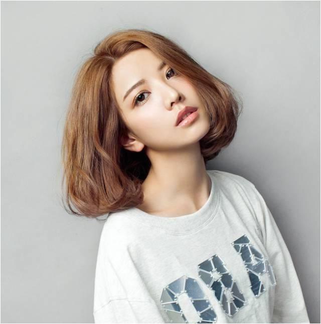 Image result for korean perm short hair