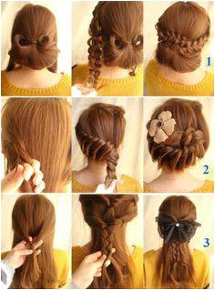 Korean Hairstyles Braided Hairstyles Girl Hairstyles Korean Hairstyles Pretty Hairstyles Hairdos